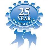 Weatherfix 25 year guarantee