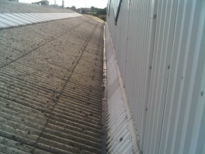 Industrial Concrete gutter